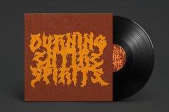 Monumental Purgatory - 3 Awesome Deathmetal Fonts Product Image 5