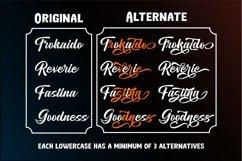 Moga Rezeki   Duo Font With Extra Swash Product Image 3