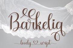 Barkelia Lovely Script Product Image 1
