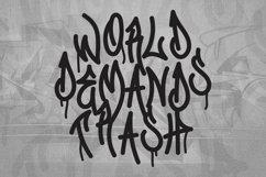 Web Font Graffiti Gang Font Product Image 4