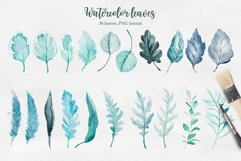 Winter. Watercolor collection. Product Image 6