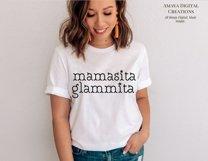 Mamasita Glammita SVG, Instant Download Product Image 6
