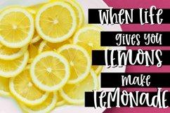 Farmhouse Lemonade - Handwritten Font Product Image 4