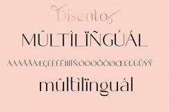 Disento Sensual Ligature Sans Serif Typeface Product Image 12