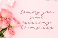 Web Font Angel Rose   An Elegant Monoline Font Product Image 6