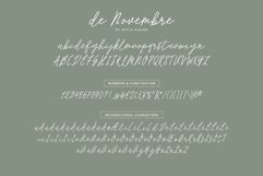 Monoline Signature script - de Novembre Product Image 6