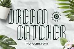 Web Font Dreamcatcher Font Product Image 1