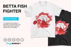 Betta Fish Fighter Vector Illustration Product Image 4