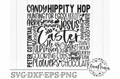 Easter Subway Art Svg File Product Image 2