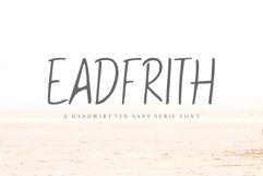 Eadfrith Handwirtten Sans Serif Font Product Image 1