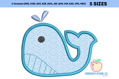 Whale With The Outline Applique Product Image 3