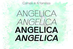 ANGELICA, A Thin Typeface Product Image 4