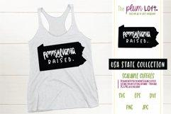 Pennsylvania Raised - SVG design Product Image 1