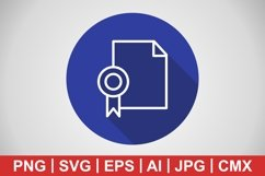 Vector Diploma Icon Product Image 1