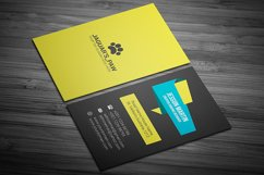 Stylish Modern Business Card Template Design Product Image 2