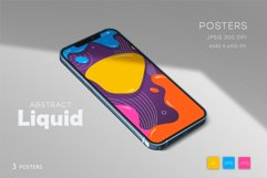 Colorful posters in liquid style. Product Image 2
