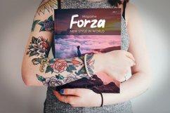 Forza - Brush Typeface Font Product Image 2