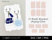 Keyring Display Card Svg BUNDLE, Packaging SVG, Keychain SVG Product Image 6