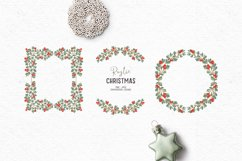 Hand-drawn Christmas clipart| Christmas wreath clipart Product Image 1
