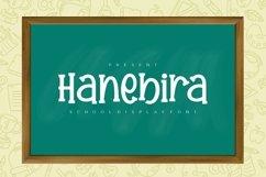Hanebira - School Display Font Product Image 1