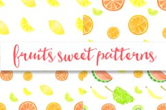 Watercolor sweet fruits Product Image 6