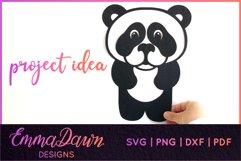 PRIMROSE THE PANDA SVG MANDALA / ZENTANGLE 3 DESIGNS Product Image 8
