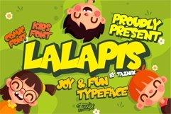 Lalapis Fun Children Typeface Product Image 1