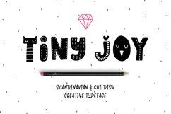 Tiny Joy Font - Scandinavian & Kids Product Image 1