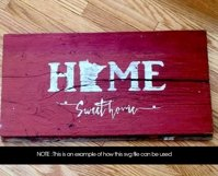 Home Sweet Home Minnesota SVG File Product Image 2