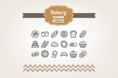 Hand Drawn Bakery Icons Product Image 1