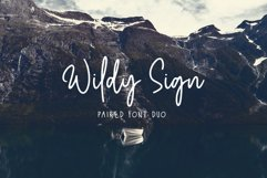 Wildy Sign - Paired Font Duo Product Image 1