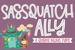 Sassquatch Ally - A Quirky Inline Type Product Image 1