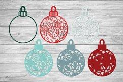Christmas SVG Multi Layer Ornament | Mandala SVG 3D Layered Product Image 2