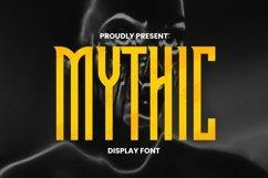 Web Font Mythic Font Product Image 1