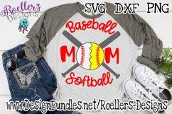 Baseball Softball Mom, sports mom, baseball, softball Product Image 1