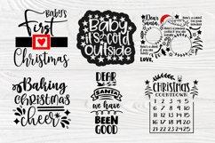 Christmas SVG Bundle, Christmas Shirt Svg, Funny Santa Claus Product Image 3