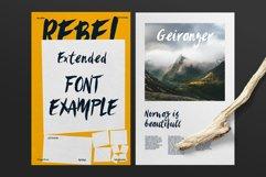 Sanös Extended Script Font Product Image 5