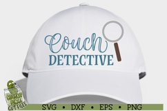 Couch Detective SVG Cut File Product Image 3
