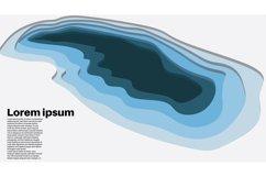 set bundle vector background . wave design illustration Product Image 4