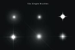 20 Star Photoshop Brushes Product Image 2