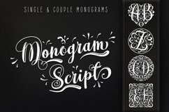 Monogram Script | Full Alphabet Single & Couple Monograms Product Image 1