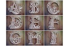 A-Z Layered Letters Bundle, Alphabet letters Bundle Product Image 4