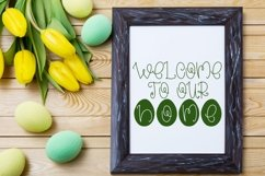 Web Font Hoppy Easter - An Easter Display Font Duo Product Image 2