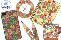 Autumn Florals Clip Art Product Image 2