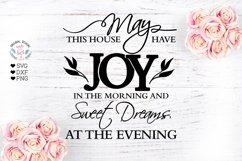 Home Blessings Prayer Cut File - Sublimation File Product Image 1