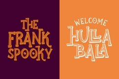 Ghostober   Halloween Layered Font Product Image 2