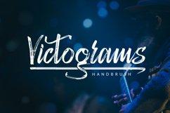 Victograms - Handbrush Font Product Image 1