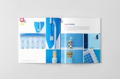 Creative Agency Brochure Square Template Product Image 6