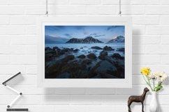 Misty Stones - Wall Art - Digital Print Product Image 1