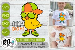 Cool Kids Easter Bundle - A Set of Layered Cricut SVGs Product Image 2